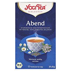 YOGI TEA Abend Tee Bio Filterbeutel 17x1.8 Gramm - Vorderseite
