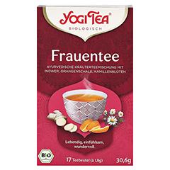 YOGI TEA Frauen Tee Bio Filterbeutel 17x1.8 Gramm - Vorderseite
