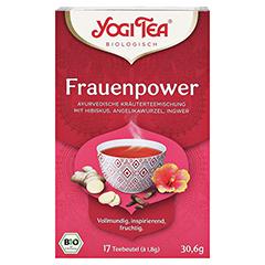 YOGI TEA Frauen Power Bio Filterbeutel 17x1.8 Gramm - Vorderseite