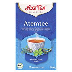 YOGI TEA Atem Tee Bio Filterbeutel 17x1.8 Gramm - Vorderseite