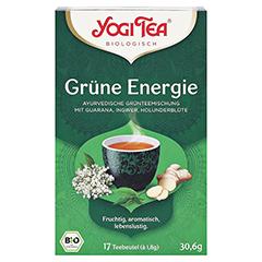 YOGI TEA Grüne Energie Bio Filterbeutel 17x1.8 Gramm - Vorderseite
