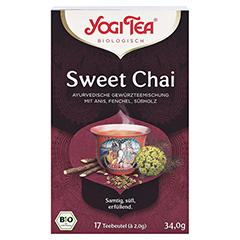 YOGI TEA Sweet Chai Bio Filterbeutel 17x2 Gramm - Vorderseite