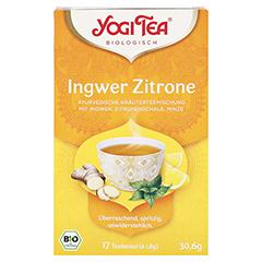 YOGI TEA Ingwer Zitrone Bio Filterbeutel 17x1.8 Gramm - Vorderseite