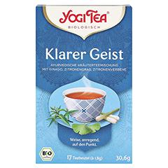 YOGI TEA Klarer Geist Bio Filterbeutel 17x1.8 Gramm - Vorderseite