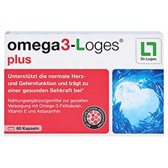 omega3-Loges plus 60 Stück - Vorderseite