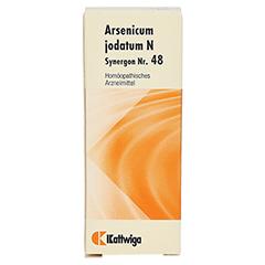 SYNERGON KOMPLEX 48 Arsenicum jodatum N Tropfen 20 Milliliter - Vorderseite