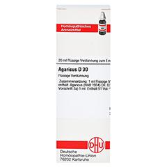 AGARICUS D 30 Dilution 20 Milliliter N1 - Vorderseite