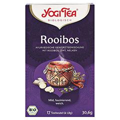 YOGI TEA Rotbusch Bio Filterbeutel 17x1.8 Gramm - Vorderseite