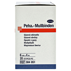 PEHA-MULLBINDE 6 cmx4 m 20 Stück - Linke Seite