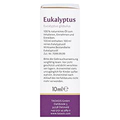EUKALYPTUS ÖL Arzneimittel 10 Milliliter - Linke Seite