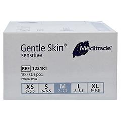 GENTLE SKIN Sensitive U.Hands.Lat.unster.pf Gr.M 100 Stück - Linke Seite