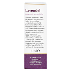 Lavendel ÖL im Umkarton 10 Milliliter - Linke Seite