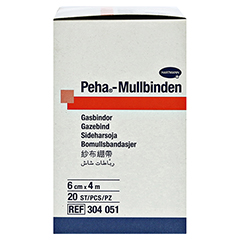 PEHA-MULLBINDE 6 cmx4 m 20 Stück - Rechte Seite