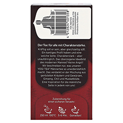 YOGI TEA Männer Bio Filterbeutel 17x1.8 Gramm - Rechte Seite
