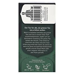 YOGI TEA Green Chai Bio Filterbeutel 17x1.8 Gramm - Rechte Seite