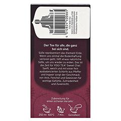 YOGI TEA Sweet Chai Bio Filterbeutel 17x2 Gramm - Rechte Seite