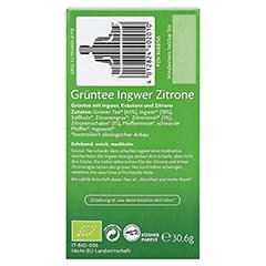 YOGI TEA Grüntee Ingwer Zitrone Bio Filterbeutel 17x1.8 Gramm - Rechte Seite