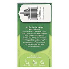YOGI TEA grüner Morgen Bio Filterbeutel 17x1.8 Gramm - Rechte Seite