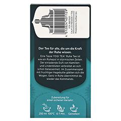 YOGI TEA Ruhe Bio Filterbeutel 17x1.8 Gramm - Rechte Seite