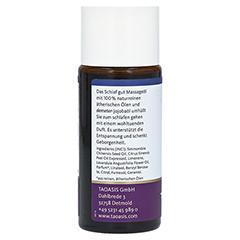 SCHLAF GUT Massageöl Bio 50 Milliliter - Rechte Seite