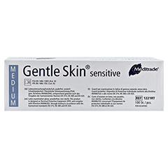 GENTLE SKIN Sensitive U.Hands.Lat.unster.pf Gr.M 100 Stück - Rückseite