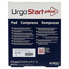 URGOSTART Plus Kompresse 10x12 cm 10 Stück - Rückseite