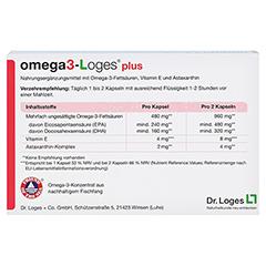 omega3-Loges plus 60 Stück - Rückseite