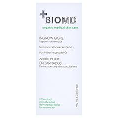 BIOMED eingewachsene Haare ade Creme 90 Milliliter - Rückseite