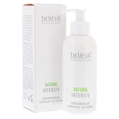 BELIEVA Natural Intensiv Reinigungsmilch 250 Milliliter