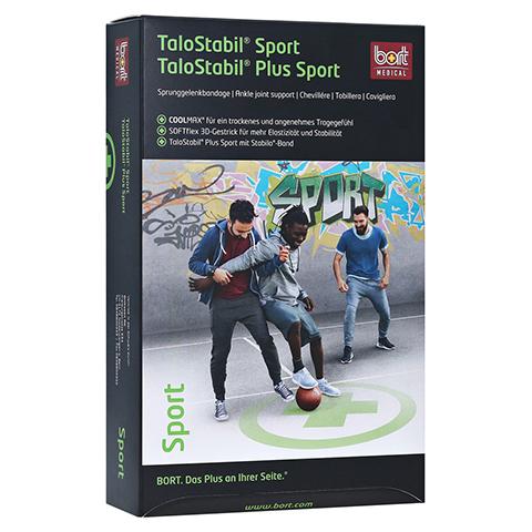 BORT TaloStabil Sport Bandage XL schwarz/grün 1 Stück
