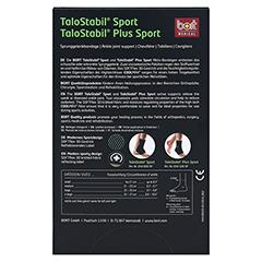 BORT TaloStabil Sport Bandage XL schwarz/grün 1 Stück - Rückseite