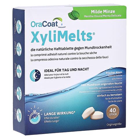 ORACOAT XyliMelts Hafttabletten milde Minze 40 Stück