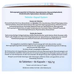 Doppelherz system Gelenk 1200 Glucosamin + Chondroitin + Hyaluronsäure + Enzyme 120 Stück - Rechte Seite