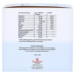 Doppelherz system Gelenk 1200 Glucosamin + Chondroitin + Hyaluronsäure + Enzyme 120 Stück - Linke Seite