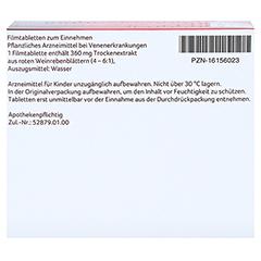 Antistax extra Venentabletten 180 Stück - Unterseite
