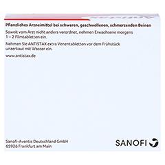 Antistax extra Venentabletten 180 Stück - Oberseite