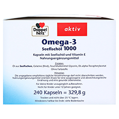 DOPPELHERZ Omega-3 Seefischöl 1000 Kapseln 240 Stück - Rechte Seite