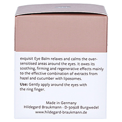 Hildegard Braukmann EXQUISIT Augen Balsam 30 Milliliter - Linke Seite