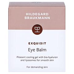 Hildegard Braukmann EXQUISIT Augen Balsam 30 Milliliter - Rückseite