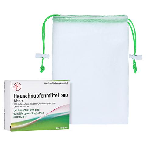 HEUSCHNUPFENMITTEL DHU Tabletten + gratis DHU Obst- und Gemüsebeutel 100 Stück N1