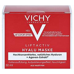 Vichy Liftactiv Hyalu Mask Hyaluron Maske + gratis Vichy Liftactiv Collagen Specialist Nacht 15ml 50 Milliliter - Vorderseite