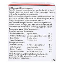 H&S Nieren-Spültee Filterbeutel 20x2.0 Gramm - Linke Seite