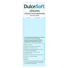 DULCOSOFT Lösung 250 Milliliter - Rückseite