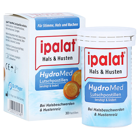 Ipalat Hydro Med Lutschpastillen 30 Stück