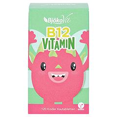 VITAMIN B12 KINDER Kautabletten vegan 120 Stück - Vorderseite