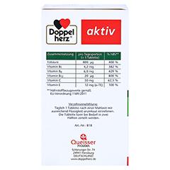 DOPPELHERZ Folsäure 800 Depot Tabletten 60 Stück - Linke Seite