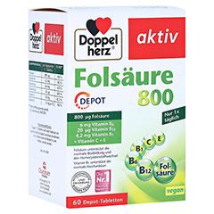 DOPPELHERZ Folsäure 800 Depot Tabletten 60 Stück