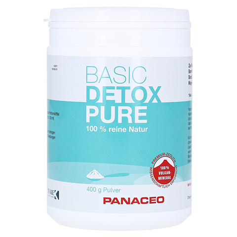 PANACEO Basic-Detox Pure Pulver 400 Gramm