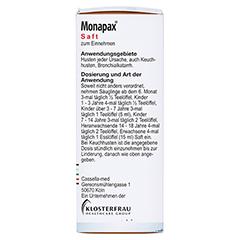 MONAPAX Saft 150 Milliliter - Linke Seite