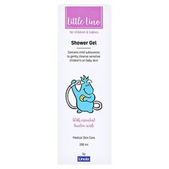 LITTLE Lino Duschpflege 200 Milliliter - Rückseite
